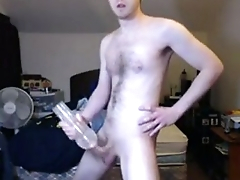 new fleshlight with a huge cumshot