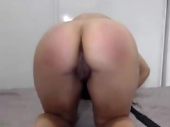 Spanish Hottie with Meaty Pussy Paddles Ass - pornify.online