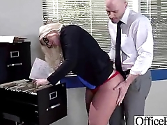 Big Tits Girl (julie cash) Bang In Office Hard Style clip-20