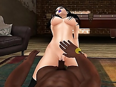 Babydoll Getting Fucked By Big Black Cock