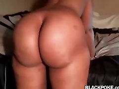 Phat clouded booty cosset teasing