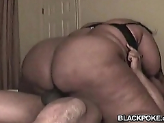 Compilation of black BBW getting fucked and creampied