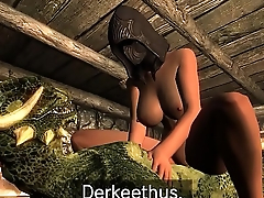 May and Derkeethus the Argonian Episode 1