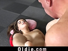 Playful girl makes sex with her private teacher