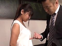 Ravishing fuck at transmitted to office along Yu Shinohara