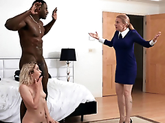 Khloe Capri gets caught with her new stepdad Jax Slayher