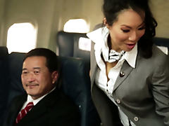 Kinky Flight Hostesses In Amazing Airplane Align Fucky-fucky
