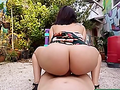 Public Pick Swings - Sexy Latina Loves Cash starring Levi Cash and Kitty Caprice