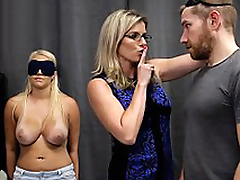 Cory Chase & Vanessa Cage - Hot Daughter Tricked into a Trio with Mom & Dad