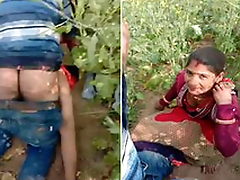 Today Exclusive- Desi village Stiffener Caught While Intercourse Outdoor