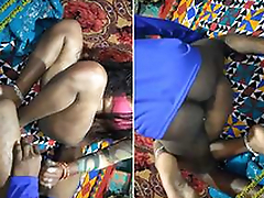 Today Exclusive-Desi Get hitched Handjob and Hard Fucked By Hubby
