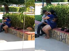 Today Exclusive- NRI Lover Outdoor Romance and Pussy Fingering