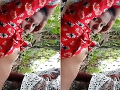 Today Exclusive- Desi Lover OutDoor Fucked