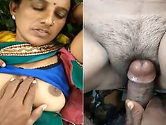 Today Exclusive-Sexy Marathi Bhabhi Outdoor Fucked By Lover