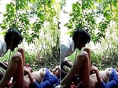 Today Exclusive- Desi Explicit OutDoor Fucking