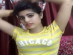 Beautiful desi girl tight boobs on live livecam