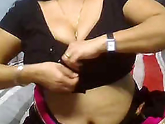 Tamil wife fucked off out of one's mind hubby's friend in hotel
