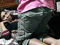 indian young couple anal fucking in bedroom Part1