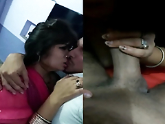 Exclusive- Hot Indian Couple Romance and BlowJob
