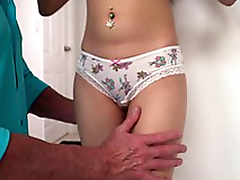 Slutty Kiley Jay in My Best Friend's Innocent Daughter, XXX HD From Try on