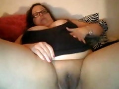 mature from BBWCurvy .com showing off