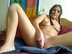 Pigtails Bella Stevens Squirts