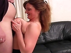 Mature Titfuck For BBW Unskilful