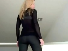 Sexy Goddess ass teasing jerk off instructions