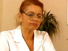 Granny BBW Ildiko Along to Doctor