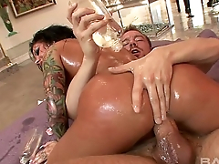 Latina Slut Mason Moore Ass Fucked