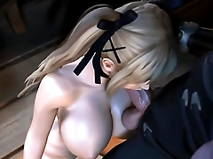 3D Hentai Compilation Video Game Girl and Ryu Hayabusa Anal and Futanari-FX