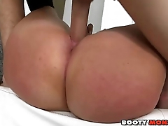 Hot White Big-Booty Fucked