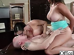 (ariella danica) Big Tits Girl Get Hard Style Nailed In Office video-08